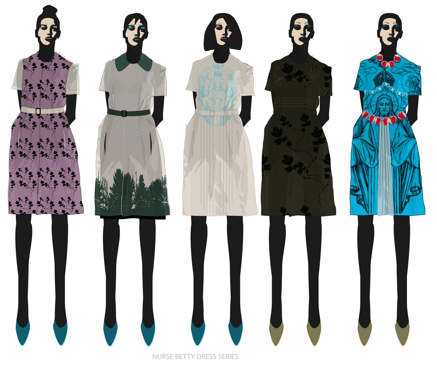 Fashion World: Fashion Illustration Portfolio