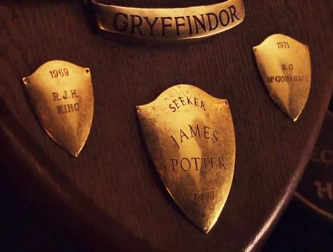 Trofeos en Harry Potter y la piedra filosofal - Cine de Escritor