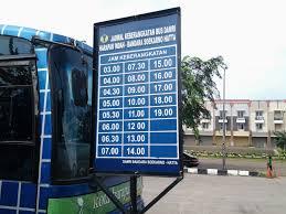Jadwal dan Rute Bus Damri Dari dan ke Bandara Soekarno Hatta
