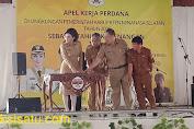 Bupati Tetty Paruntu Canangkan Tahun Kemenangan Diapel Perdana