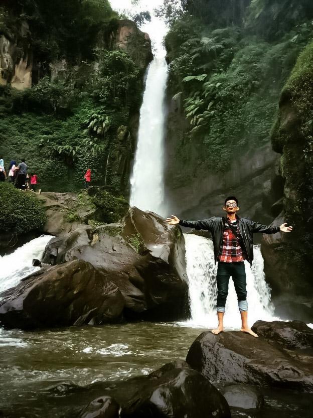 Coban Talun Waterfall Which is Popular in Batu Indonesia