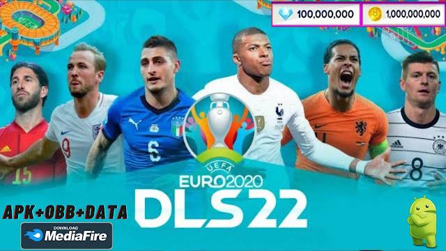 Download DLS 22 Mod APK DLS 21 Euro 2021 Unlocked