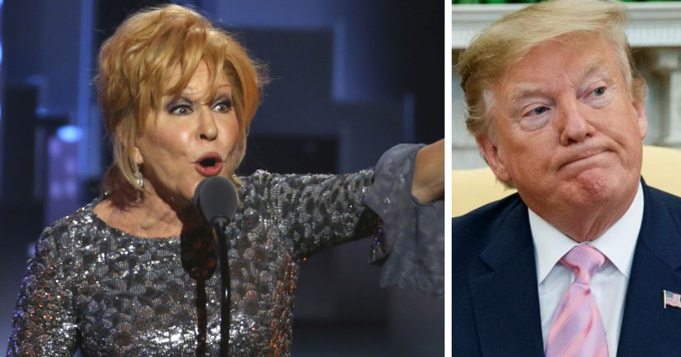 Hollywood's Bette Midler Suggests Someone Should Stab President Trump