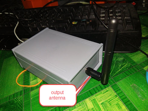 HomeMade DIY HowTo Make: 4G Signal booster / amplifier circuit using