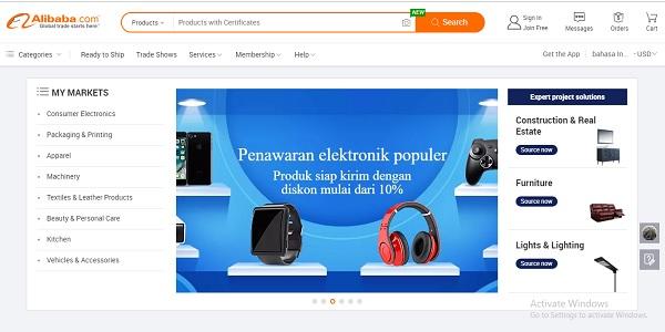 Online Shop Internasional