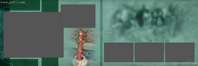 Evergreen 12x36 Album PSD Vol-9 | Photo Book PSD