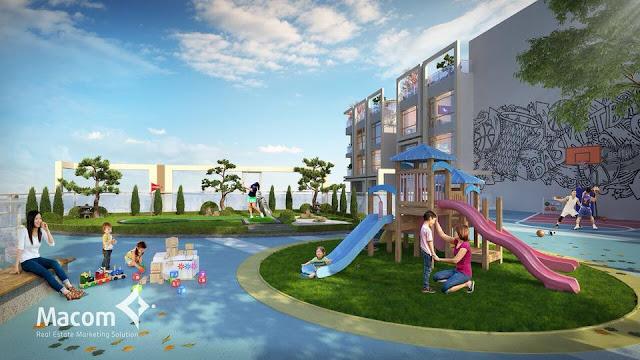 Khu vui chơi trẻ em của dự án 201 Minh Khai