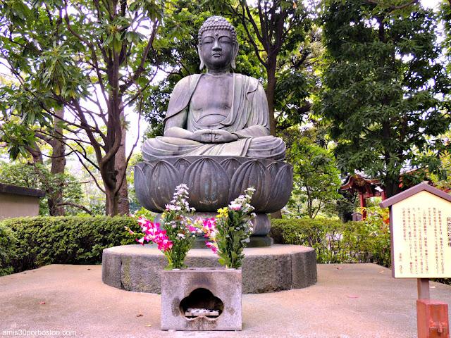 Estatua de Bronce de Amida en Yogodo, Templo Sensoji