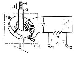 Electrical Engineering: Current transformers (CTs) in a