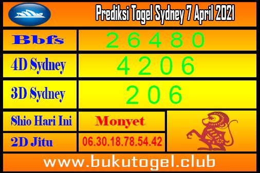 Prediksi Sydney 7 April 2021