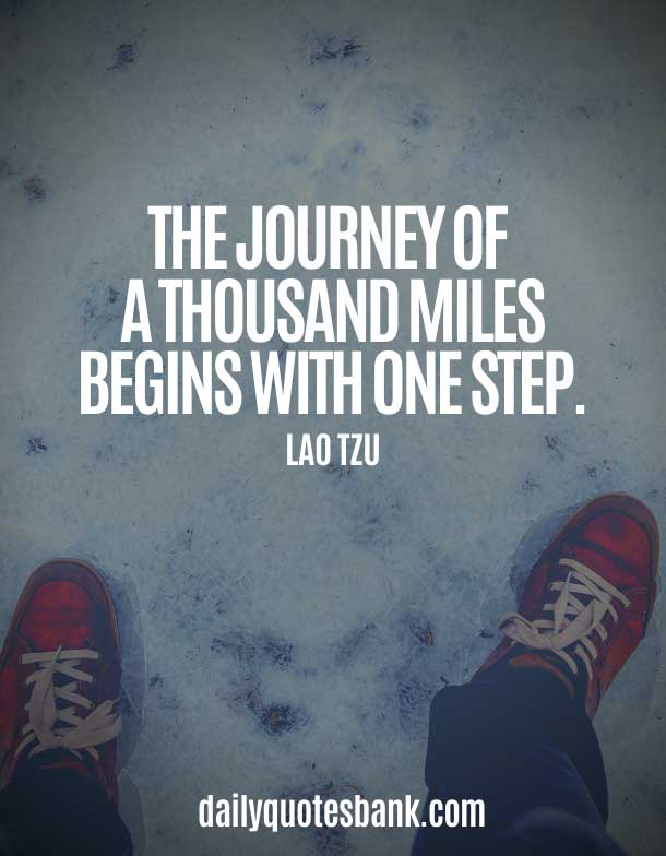 Famous Quotes About Journeys and Destination