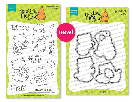 Newton's Kitchen Stamp and Die Set by Newton's Nook Designs #newtonsnook
