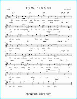 chord fly me to the moon lagu jazz standar