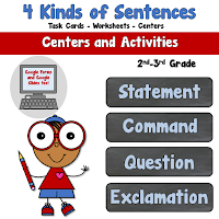 4 Kinds of Sentences Pack