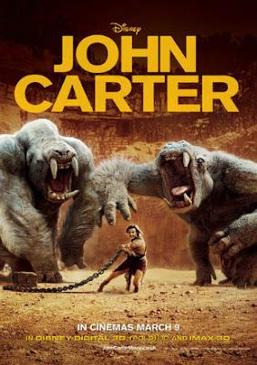 John Carter 2012 Dual Audio BRRip 720p Hindi English Full Movie