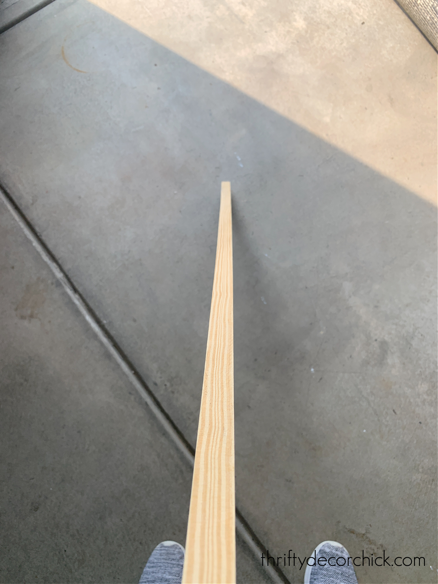 how to check wood for bowing