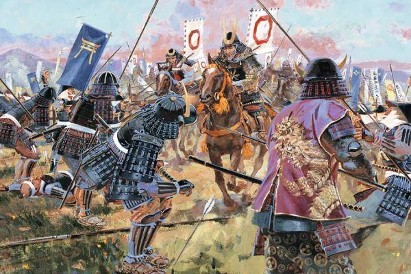 Pertempuran tradisional Jepang