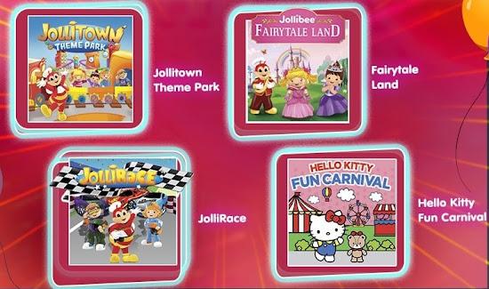 Jollibee Virtual Party Themes