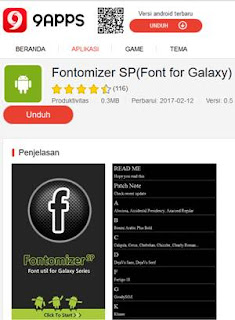 Download Fontomizer APK Terbaru