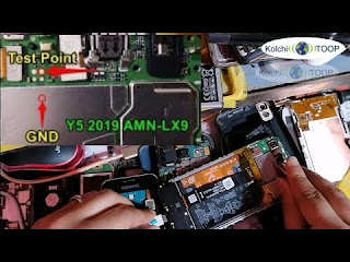 huawei amn lx9 after reset frp dead boot repair file