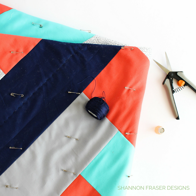 Maypole Quilt | Modern Quilting | Q4 2017 Finish-A-Long Proposed Quilt Projects | Shannon Fraser Designs | Modern Quilting | Quilt Community | Suzie Quilts Pattern