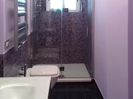 Baño color violeta