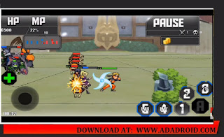 Gameplay Naruto Senki Mod Shinobi Fighters Apk