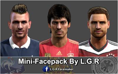 PES 2013 Mini-Facepack By L.G.R