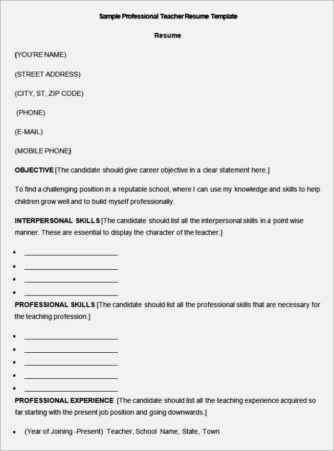 Pilates Instructor Resume Template Vosvetenet – Swim Instructor Resume