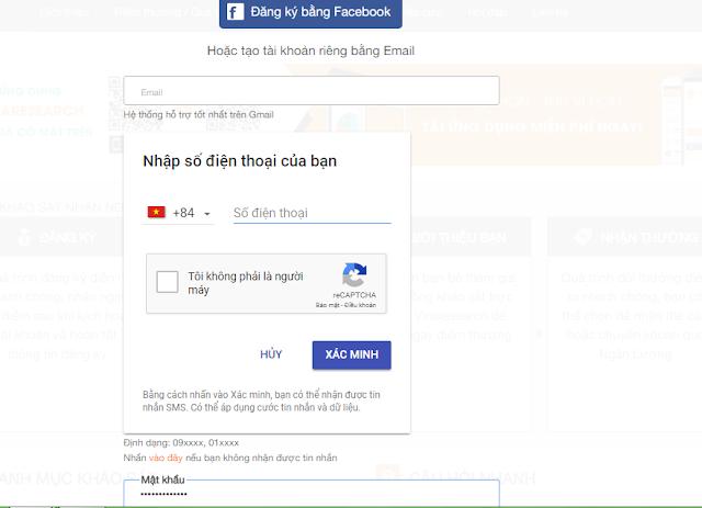 kiếm tiền online khảo sát vinaresearch của Việt Nam
