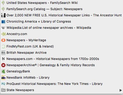 The Genealogy Guys Blog: Organize Your Bookmarks