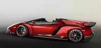 Lamborghini Veneno Roadster side