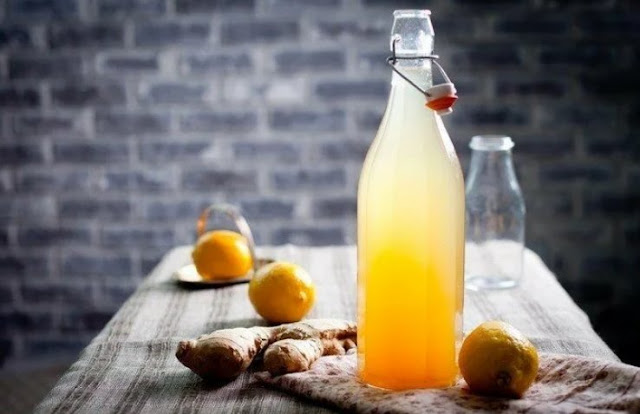 имбирный шипучий напиток