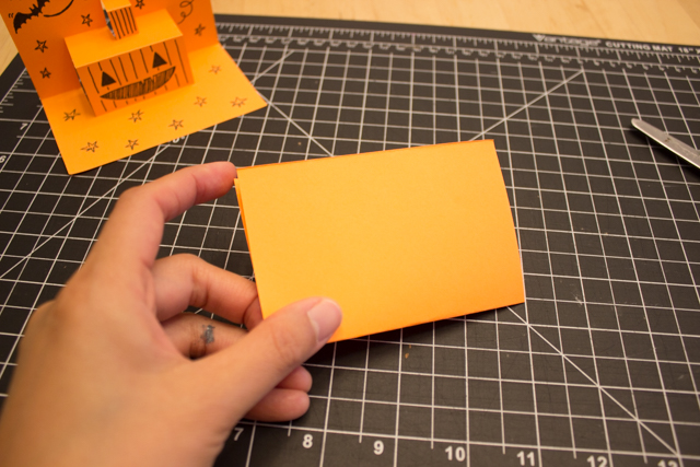How to Fold and Cut Easy DIY 3D Pop-Up Halloween Cards with Kids for crafts