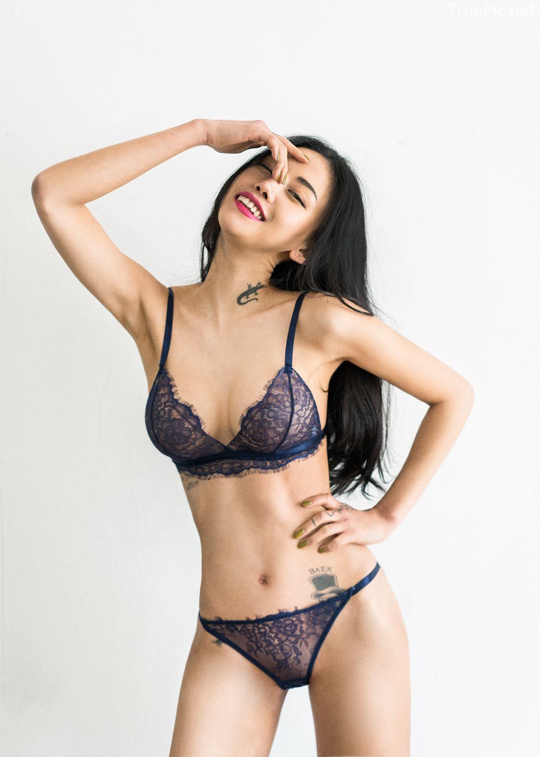 Korean Fashion Model - Baek Ye Jin - Sexy Lingerie Collection - TruePic.net - Picture 6
