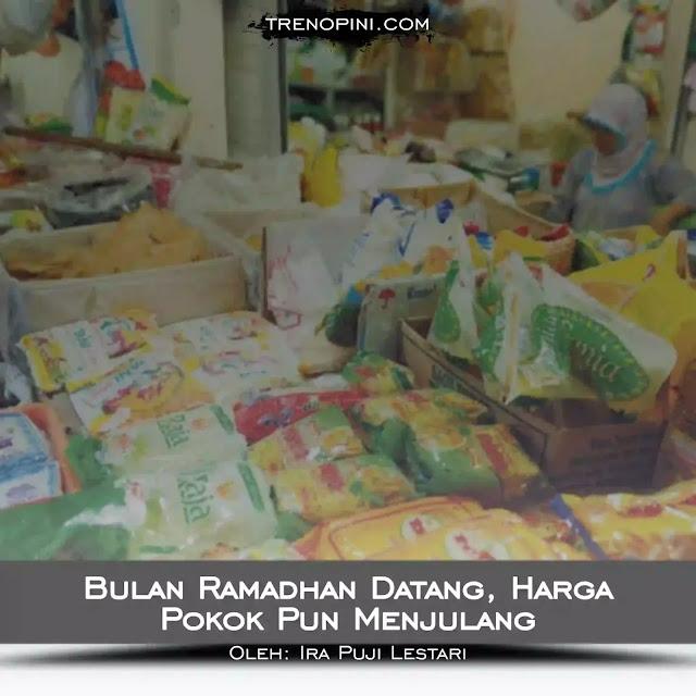 Tak lebih dari satu bulan lamanya, umat Islam akan melaksanakan ibadah puasa Ramadhan. Kemudian setelah itu merayakan Hari Raya Idul fitri 1421 Hijriah pada bulan berikutnya. Biasanya, stok dan harga pangan sangat rawan menimbulkan gejolak masyarakat pada dua momen ini.