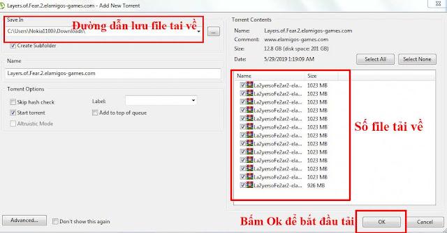 Hướng dẫn tải game bằng file Torrent