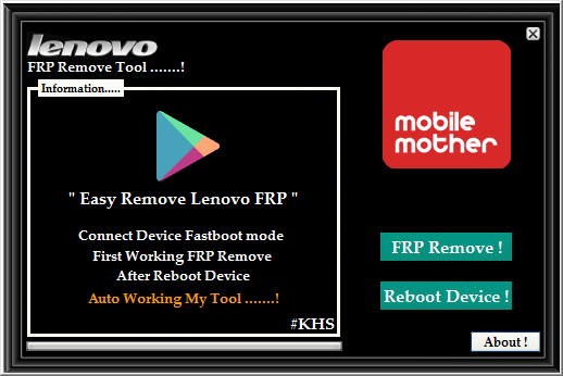Lenovo Frp Remove Tool Download Free Working 100% - Ijaz