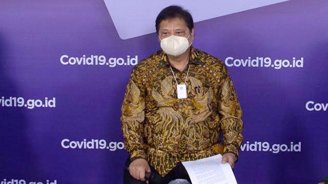 Airlangga Ungkap Rp73 Triliun Anggaran Pengadaan Vaksin COVID-19 di Tahun 2021 Nanti