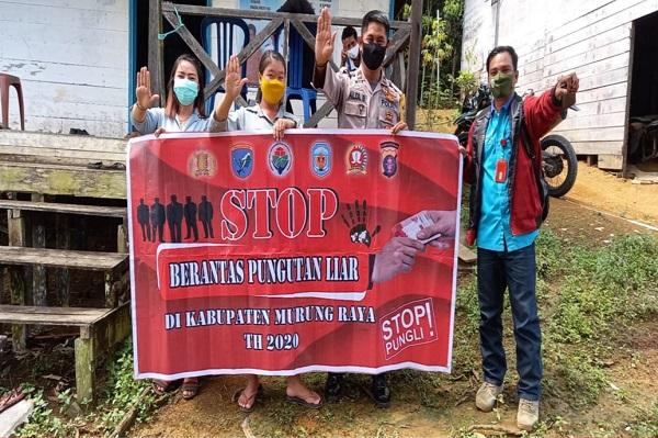 Cegah Pungli, Aipda Aldi Sosialisasikan Perpres No 87 Tahun 2016 Ke Warga Desa Olung Muro