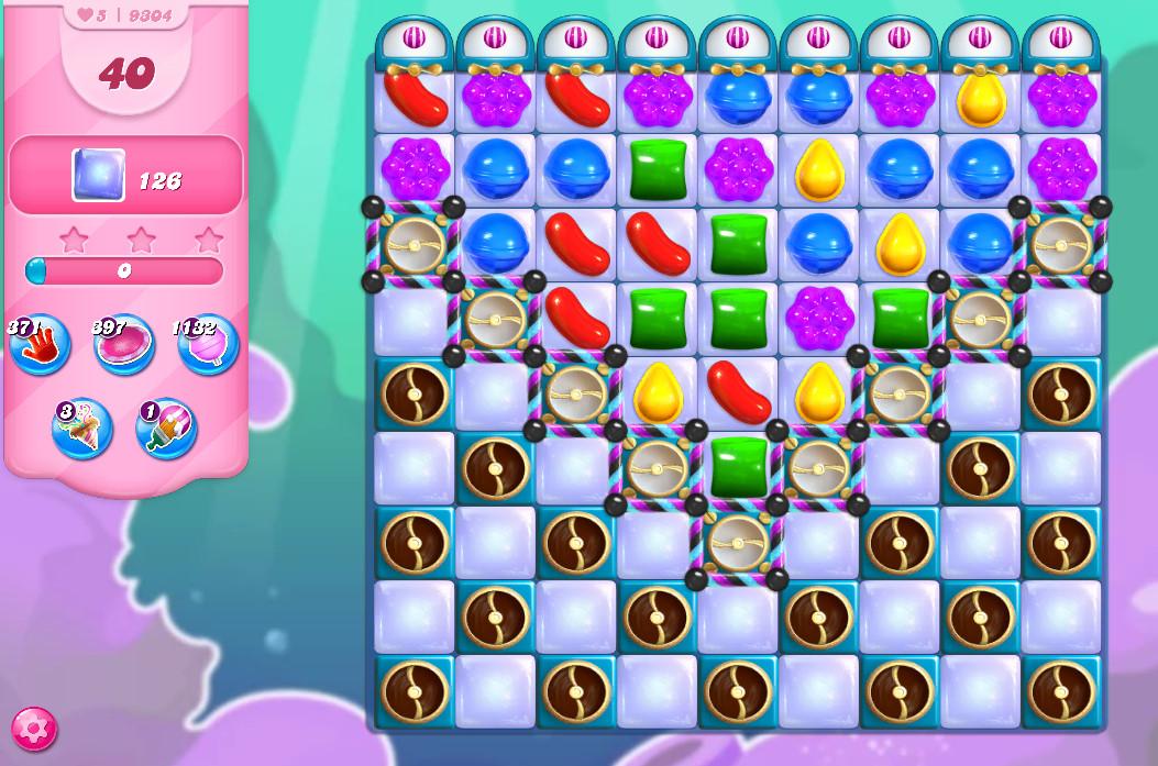 Candy Crush Saga level 9304