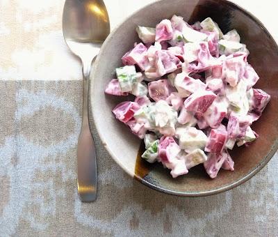 Beet & Cucumber Salad