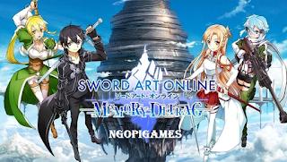 SWORD ART ONLINE Memory Defrag Apk Mod Terbaru