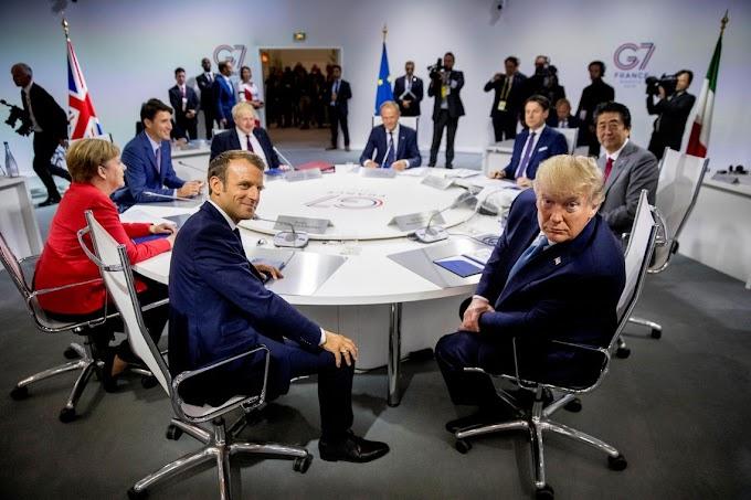G-7 chega a cordo para ajudar a Amazônia 'o mais rápido possível'