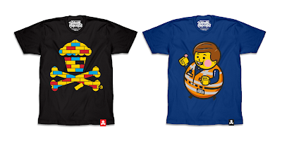 The Lego Movie 2 T-Shirt Collection by Johnny Cupcakes