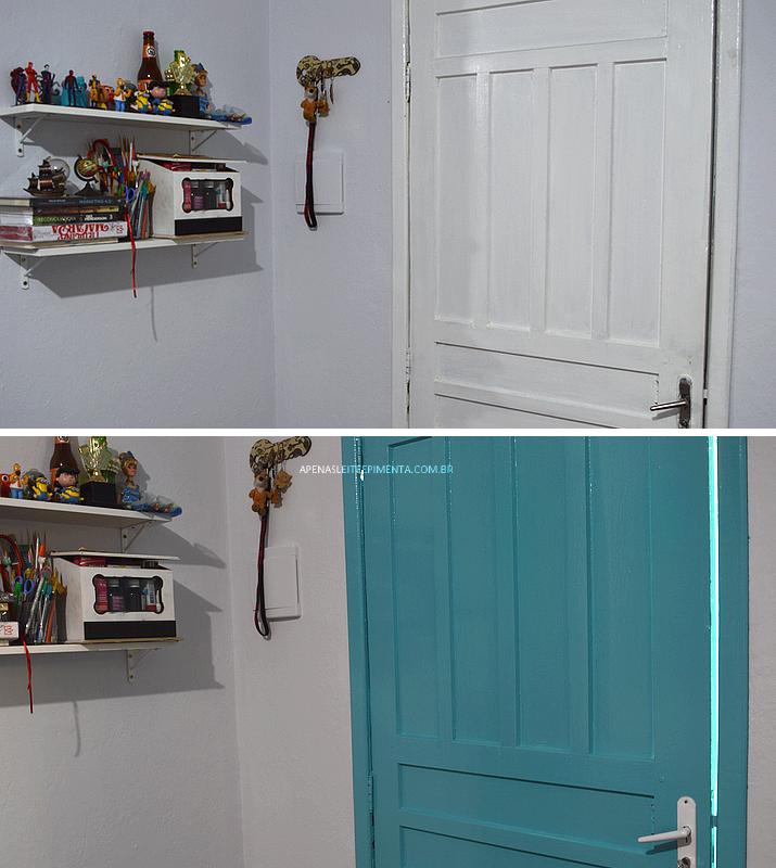 pintar a porta de casa