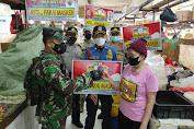Babinsa Koramil 02/TB Serda Sarip.St, Bersama Tiga Pilar Lakukan Giat PPKM Serta Edukasi Himbauan Protkes