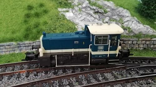 Märklin 36344 / BR 333 - Foto der Lokomotive von der Seite