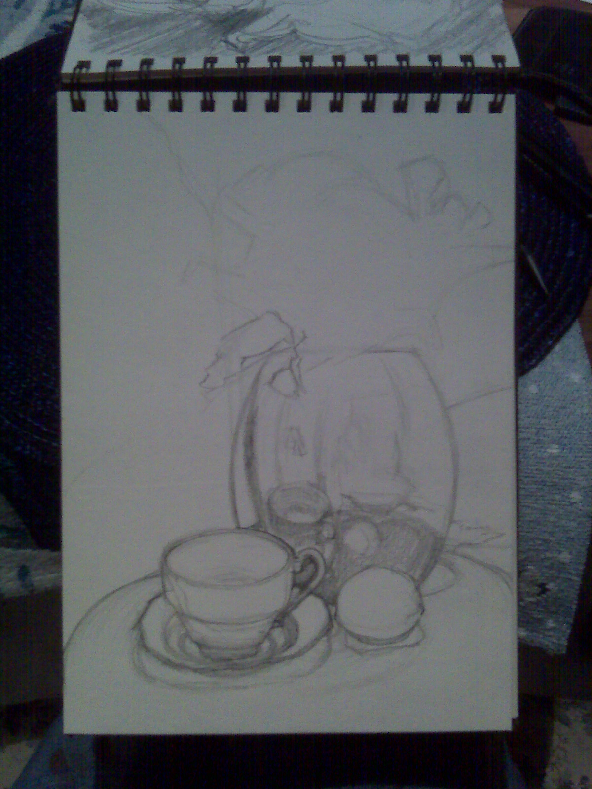 K Hitt Out And About Step By Step Still Life Drawing Example