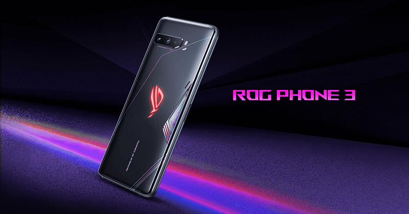 ROG Phone 3 with SD 865+, 144Hz AMOLED screen, 6,000mAh battery now official
